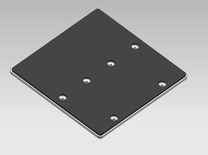 震动盘(橡胶包铝合金)