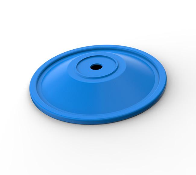 防毒面具呼吸阀硅胶膜片